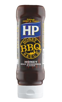 Sos HP Honey Woodsmoke BBQ 465g plastikowa butelka image