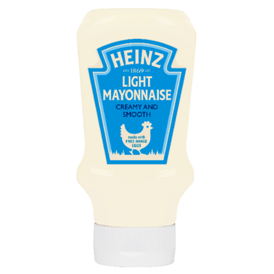 Heinz Mayonnaise Light 400ml Top Down image