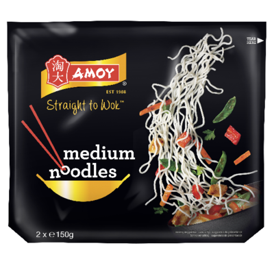 Amoy Medium Noodles 300gm image