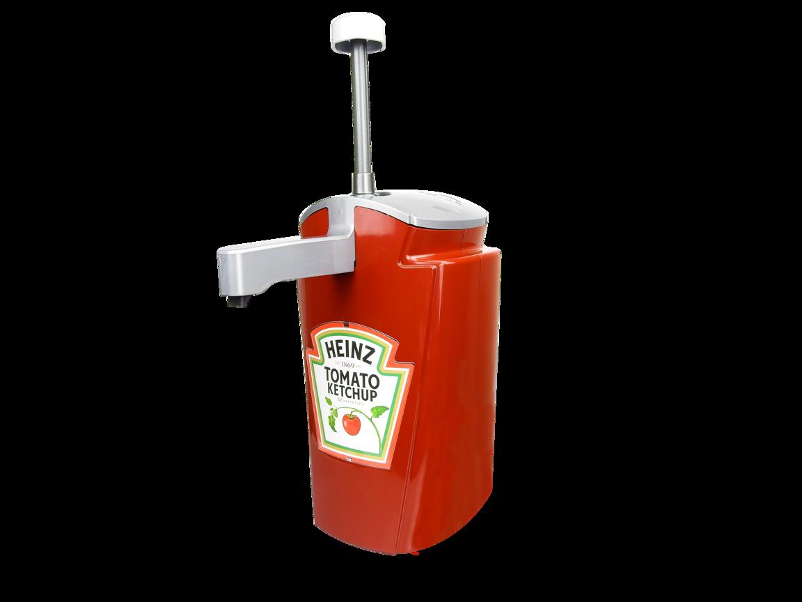 Sauce-O-mat dispenser 2.5L TOMATO KETCHUP image