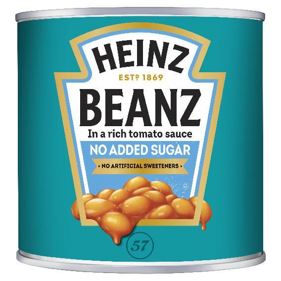 Heinz Beanz No Added Sugar 2.62kg Big Can image