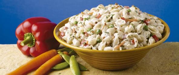 Garlic Kraft Mayo Pasta Salad