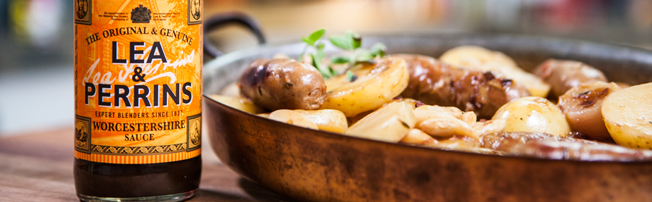 Sausage Cider and Pearl Onion Casserole image