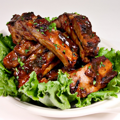 Babyback Ribs in Barbecue Sauce