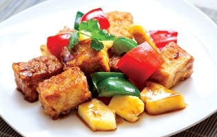 Sweet and Sour Bean Curd image