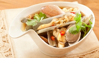 Clams in Worcestershire Sauce