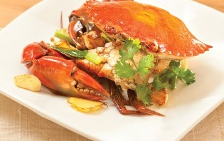 Sautéed Crab with Ginger and Shallot image