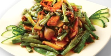 Minced Pork with Tofu and String Beans image