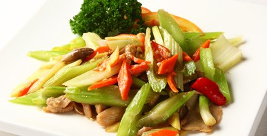 Stir Fried Chicken with Celery image