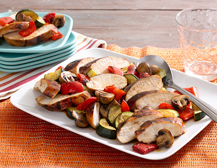 Grilled Chicken and Vegetables image