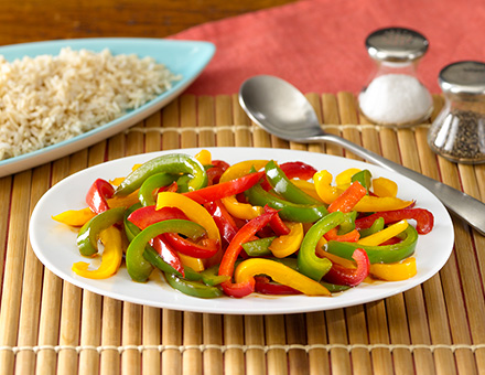 Rainbow Vegetable Stir Fry image