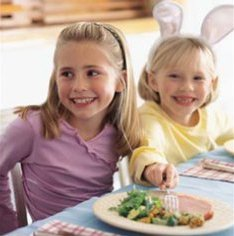 Easter Egg Hunt Menu