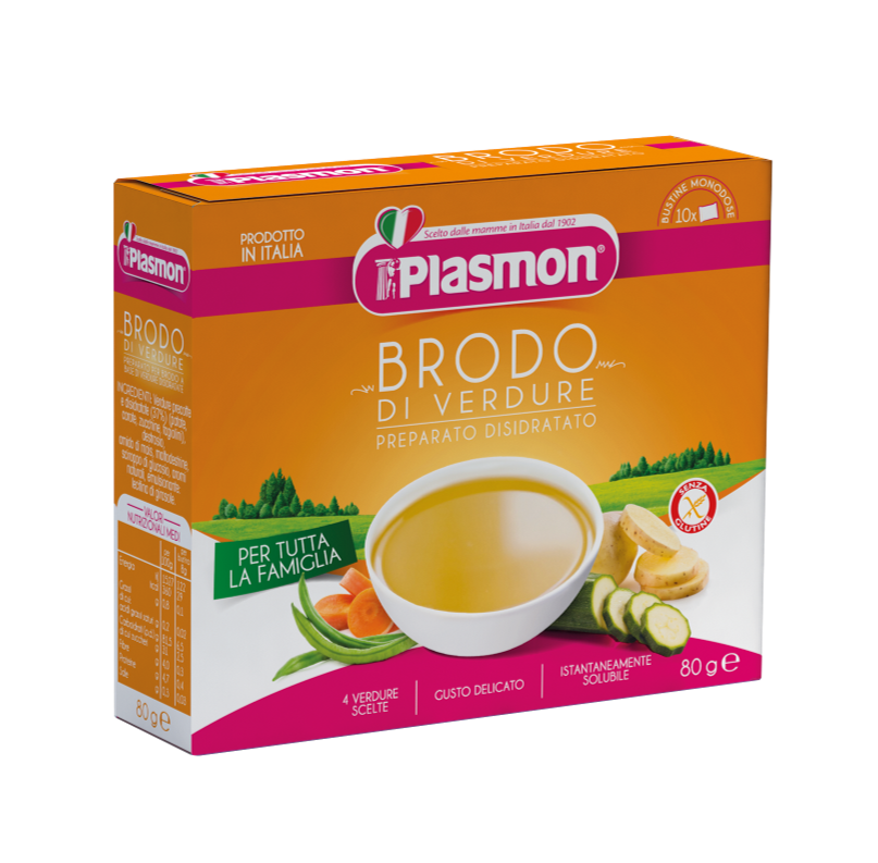 Plasmon's Vegetable Broth - dehydrated product