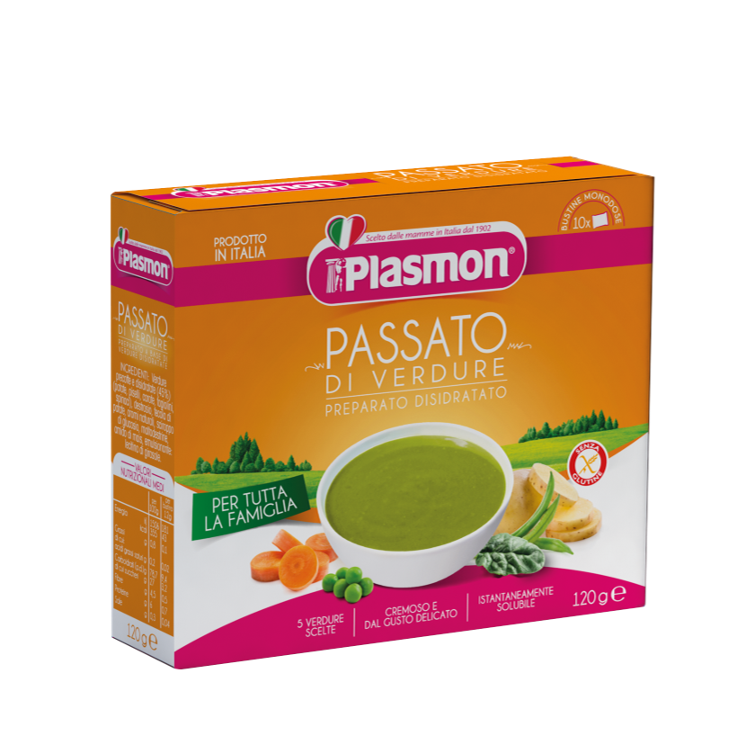Plasmon's vegetable soup - dehydrated product