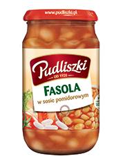 Fasola w sosie pomidorowym 600 g