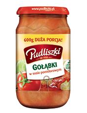 Gołąbki w sosie pomidorowym 600 g