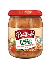 Flaczki wieprzowe w sosie pomidorowym 500 g