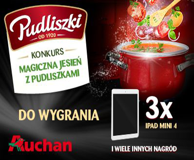 """Weź udział w konkursie """"Magiczna jesień z Pudliszkami""""!"""