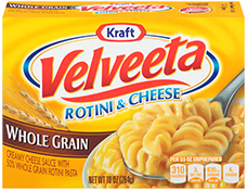 Velveeta Shells & Cheese Whole Grain Rotini & Cheese