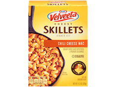 Velveeta Cheesy Skillets Cheesy Chili Mac