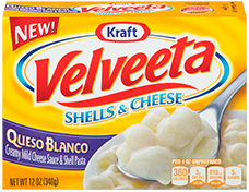 Velveeta Shells & Cheese Queso Blanco