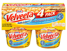 Velveeta Shells & Cheese 2% Milk Cups