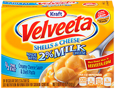 Velveeta Shells & Cheese 2% Milk