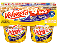 Velveeta Shells & Cheese Queso Blanco Cups