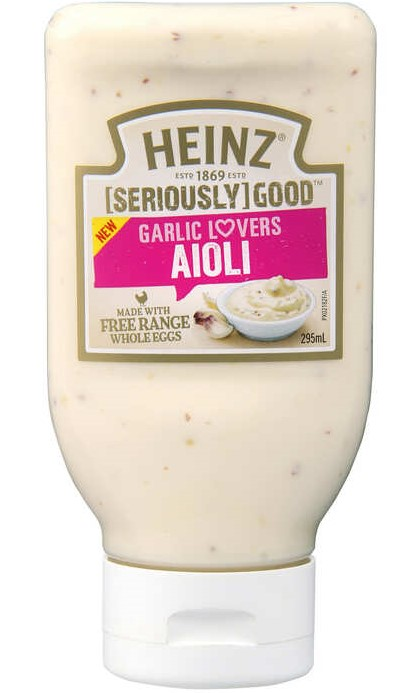 Aioli Squeezy Garlic Lovers 295ml