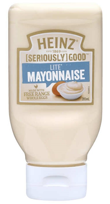 Mayonnaise Squeeze Lite 285ml image