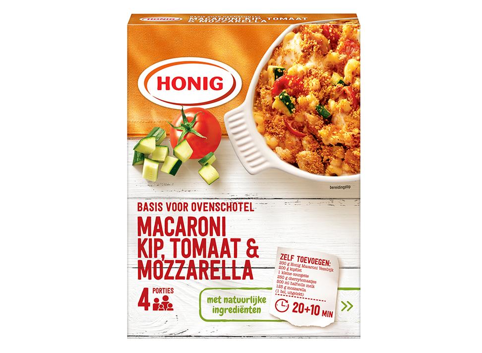Macaroni Ovenschotel Kip mozzarella tomaat
