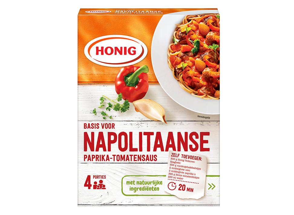 Napolitaanse Paprika Tomatensaus