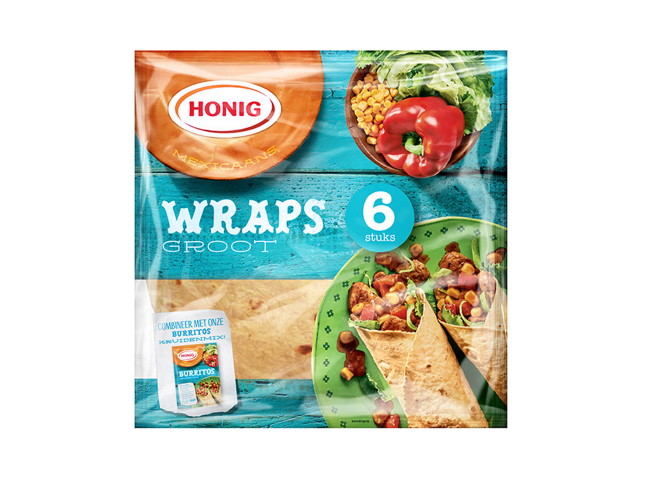 Honig Mexicaanse Wraps image