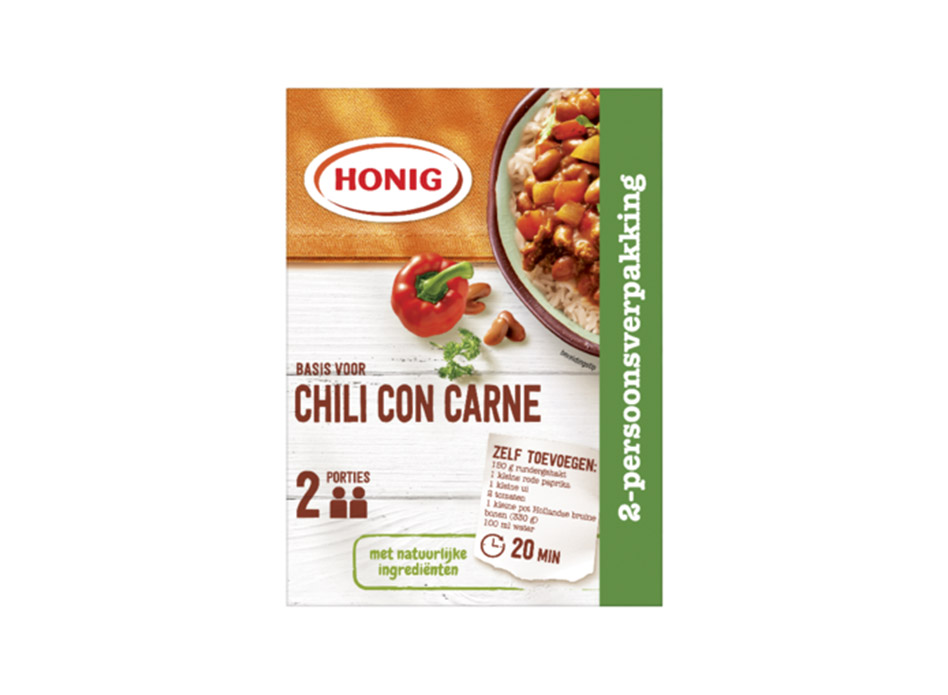 Chili con Carne 2-persoonsverpakking