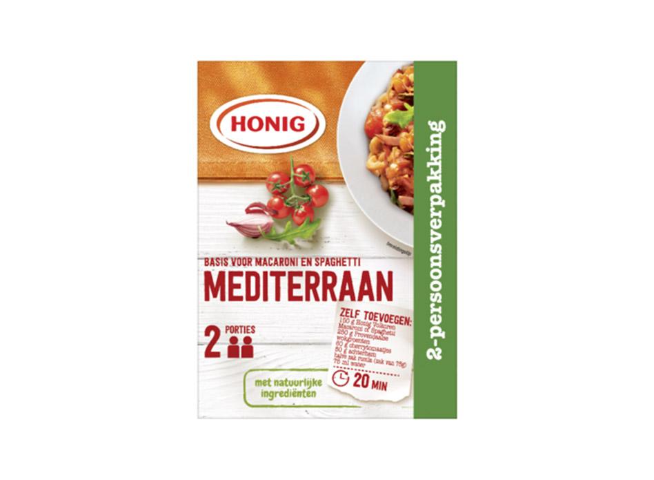 Macaroni en Spaghetti Mediterraan 2-persoonsverpakking