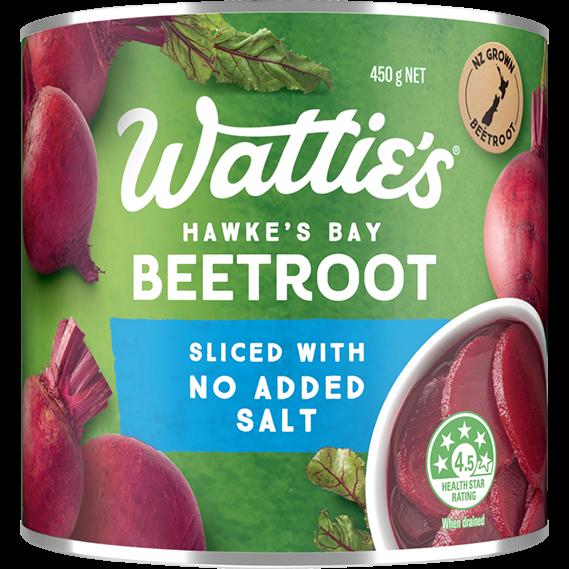 Sliced Beetroot with No Added Salt