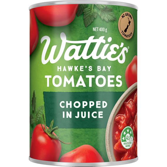 Chopped Tomatoes in Juice