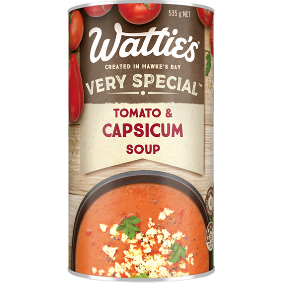 Tomato & Capsicum Soup