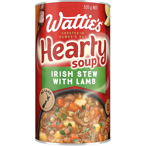 Irish Stew with Lamb Soup