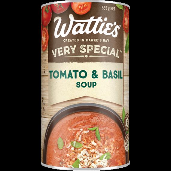 Tomato & Basil Soup