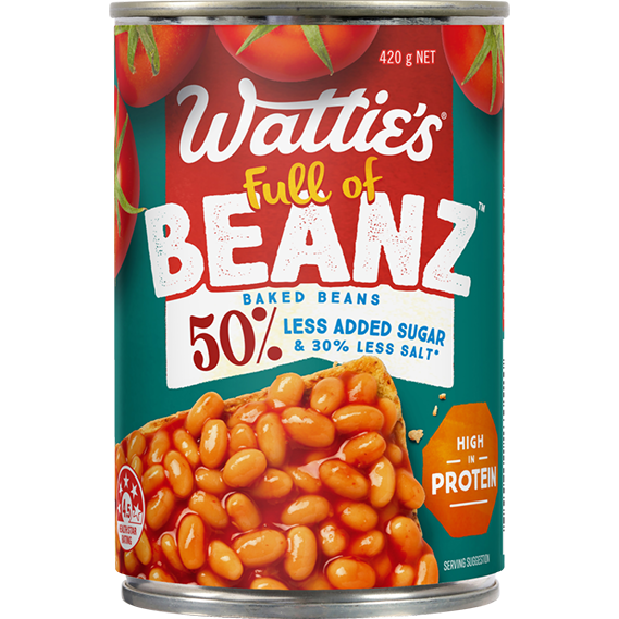 Baked Beanz - 50% less added sugar*