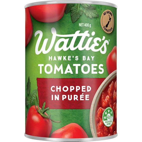 Chopped Tomatoes in Purée