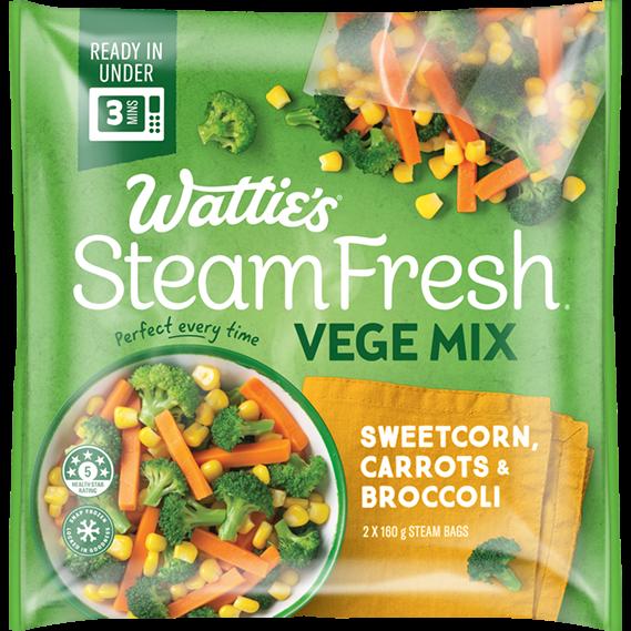 SteamFresh® Sweet Corn, Carrots & Broccoli
