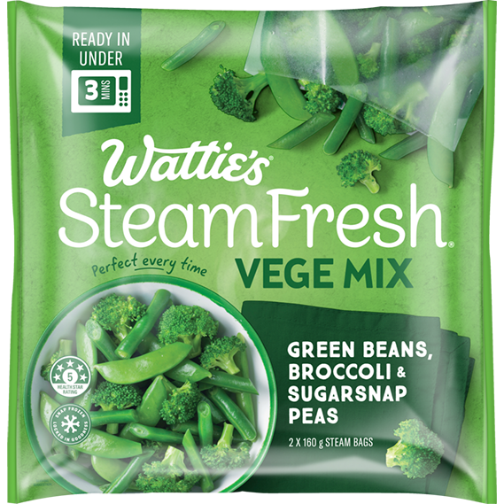 SteamFresh® Green Beans, Broccoli and Sugarsnap Peas