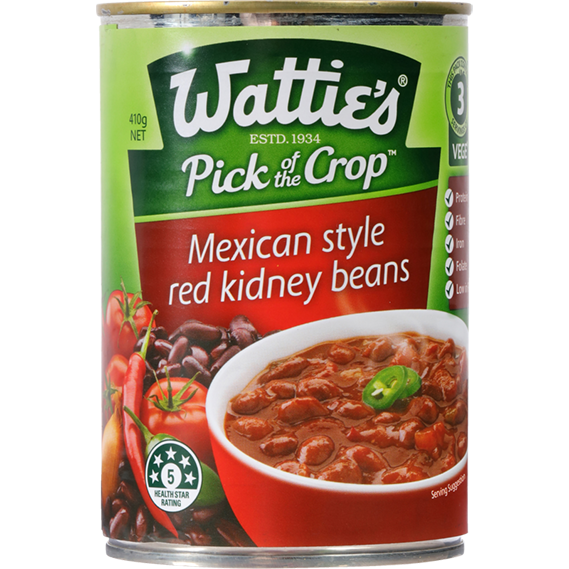 Mexican Style Red Kidney Beans