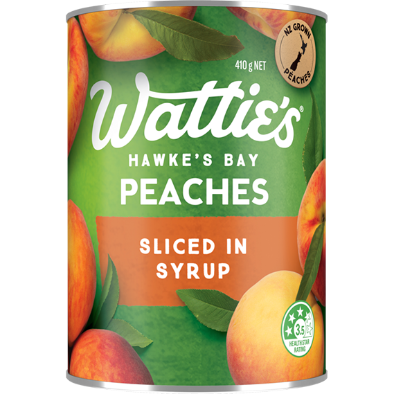Peaches Sliced in Light Syrup