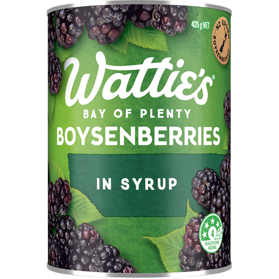 Boysenberries in Syrup
