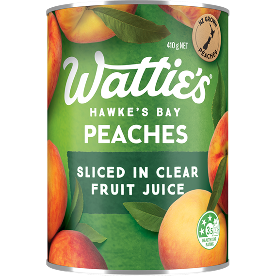 Peaches Sliced in Clear Fruit Juice