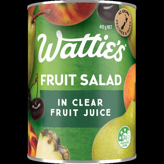 Fruit Salad in Clear Fruit Juice
