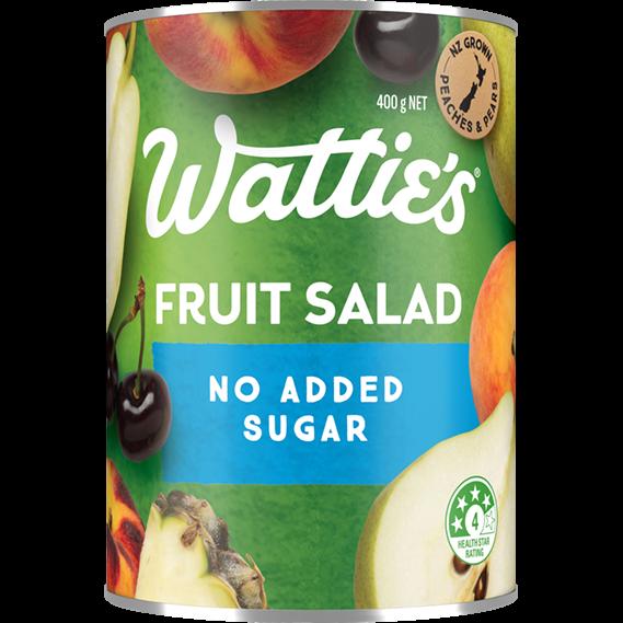 Lite Fruit Salad with No Added Sugar